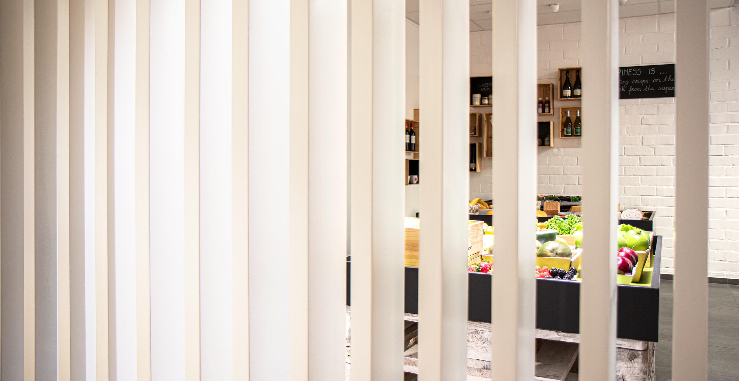 Experience showroom fresh food