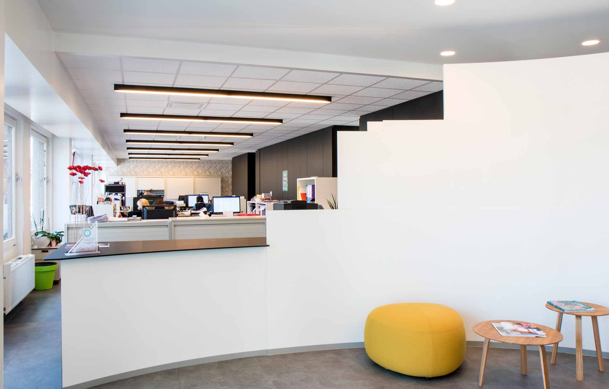 5 tips for lighting offices.