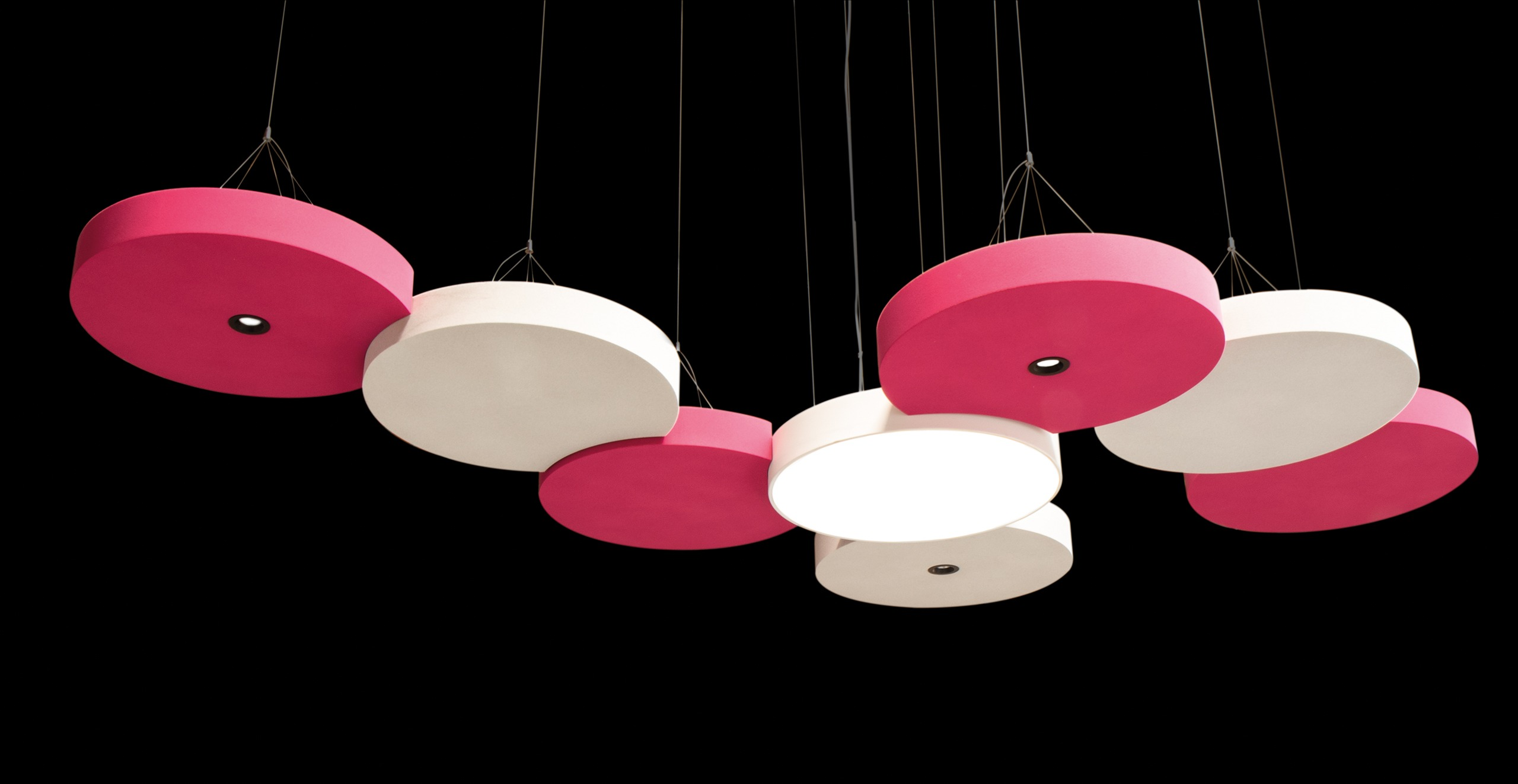 Rosa acoustic lighting