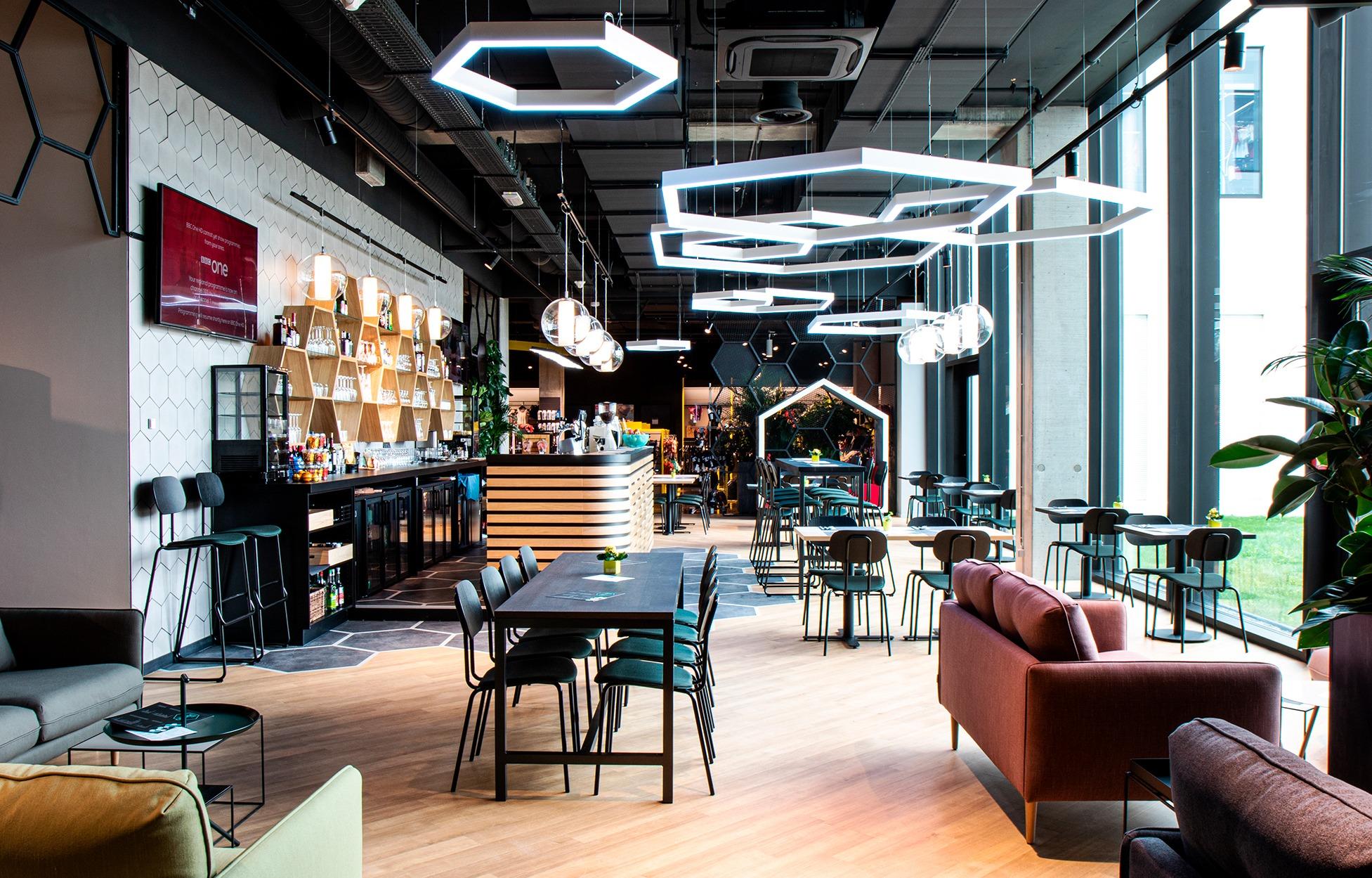 Verlichting voor Offside Bar Roeselare