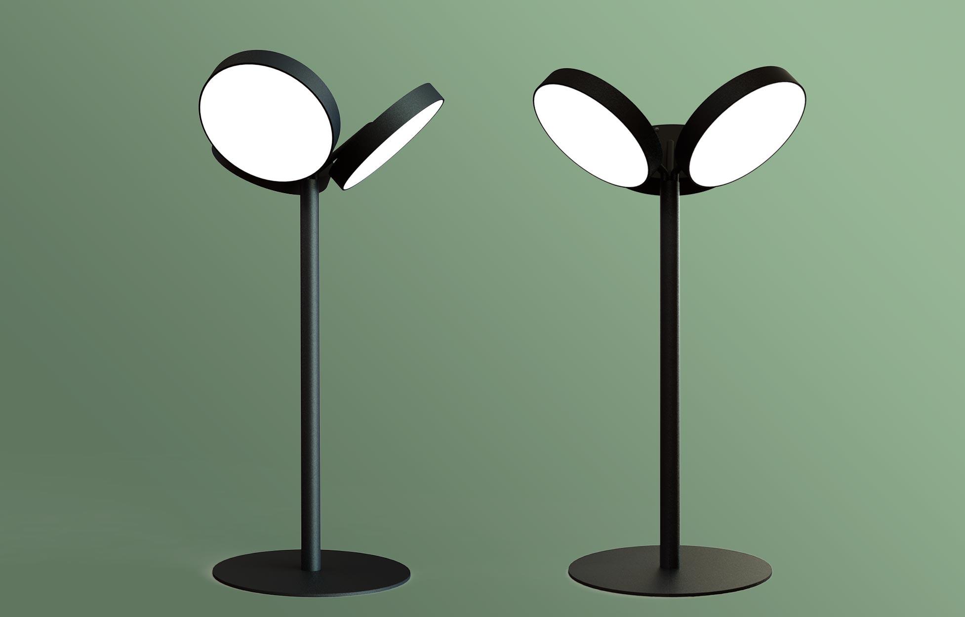 Planet tree, een op maat gemaakte staande lamp